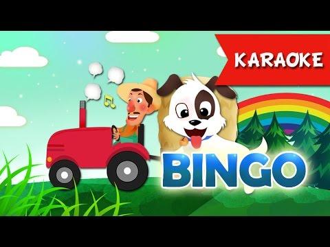 BINGO Karaoke | Ca Nhạc Thiếu Nhi Vui Nhộn | Học Tiếng Anh Qua Bài Hát ♫ ♫ ♫
