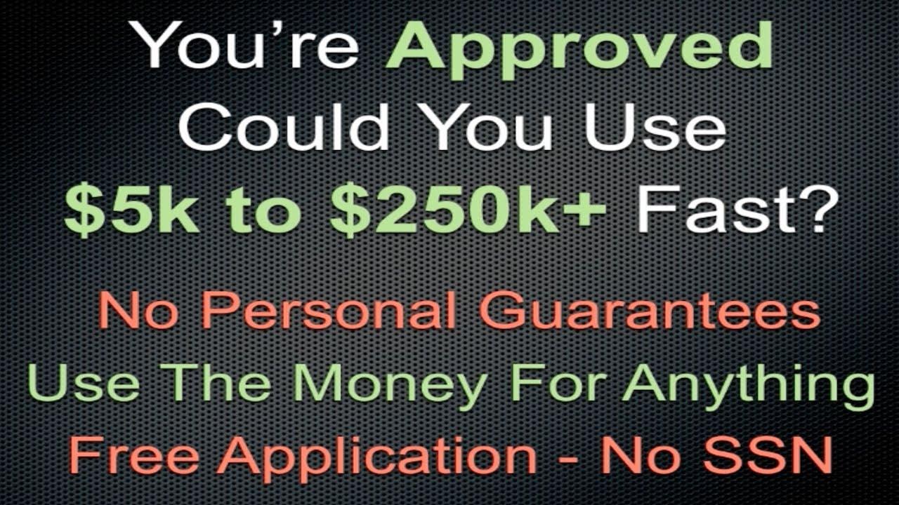 no personal guarantee loans  pension advance no credit checks