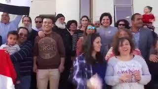 احتفالات وفرحة المصريين بالانتخابات