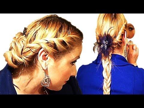 Peinados faciles con trenzas y torcidos youtube - Trenzas peinados faciles ...