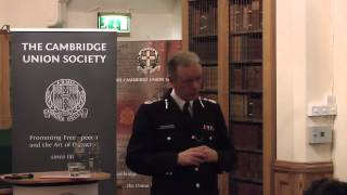 Sir Bernard Hogan-Howe at the Cambridge Union Society