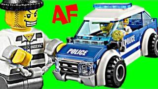 Lego City POLICE PATROL CAR Set 4436 Animated Building