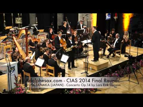 TAKUYA TANAKA JAPAN Concerto Op 14 by Lars Erik Larsson