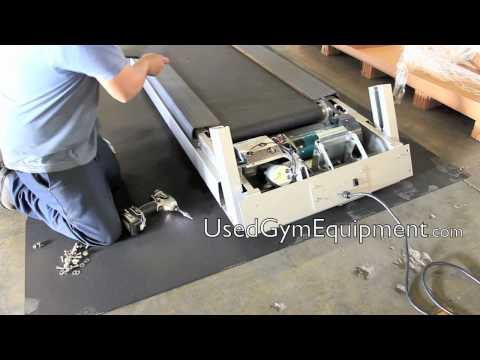 How to assemble used Precor treadmills model 954, 956, and 966
