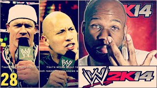 WWE 2K14 30 Years Of Wrestlemania Part 28 The Rock Vs