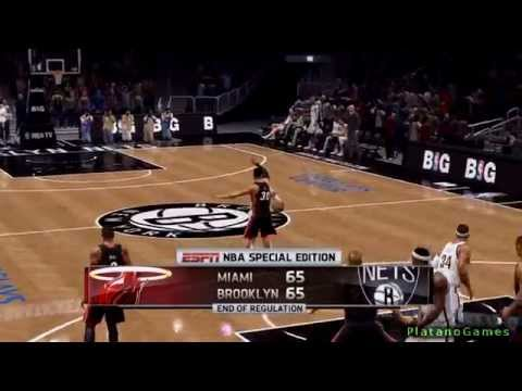 NBA Playoffs - Miami Heat vs Brooklyn Nets - Game 3 - Overtime - Live 14 - HD