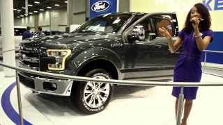 DFW Auto Show 2014 New 2015 Ford F150