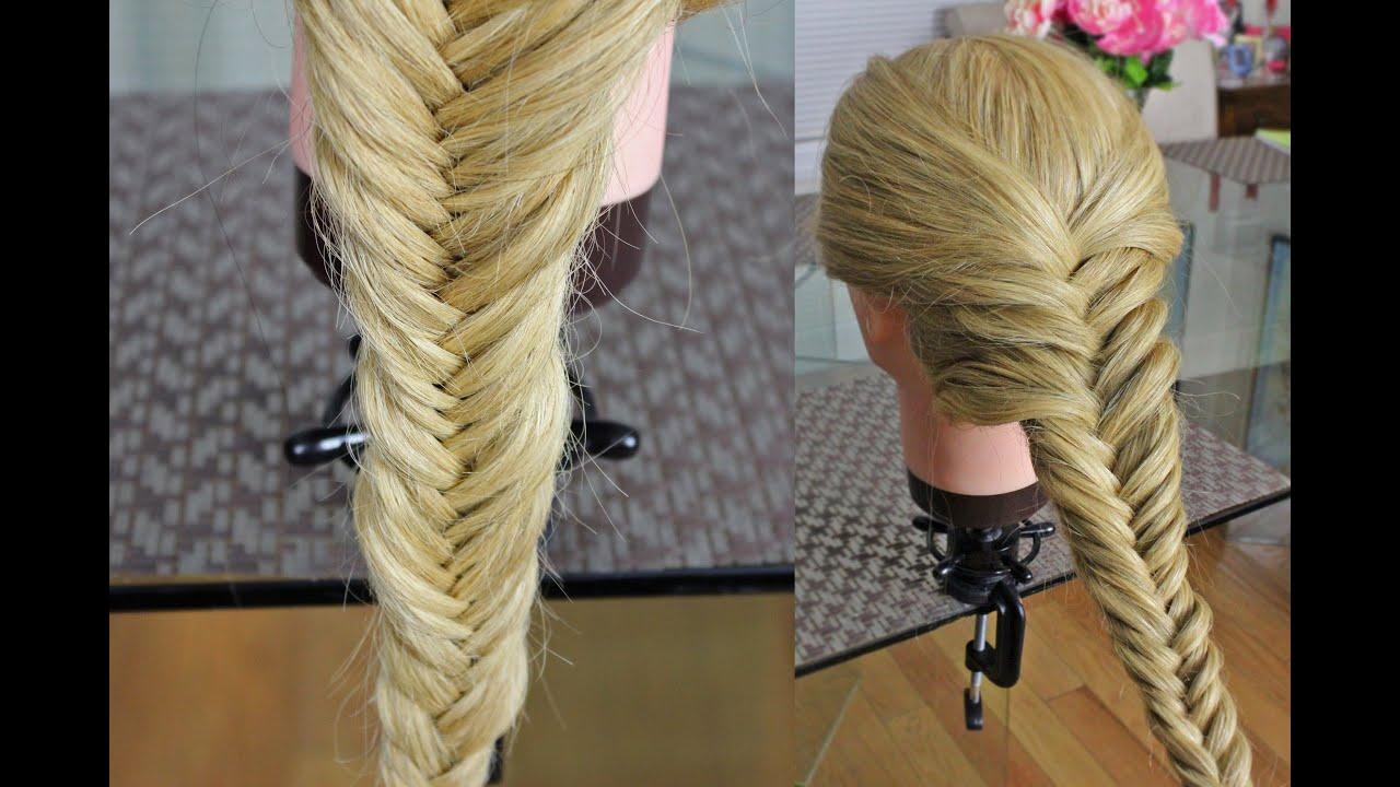 Как сделать волос косами 166