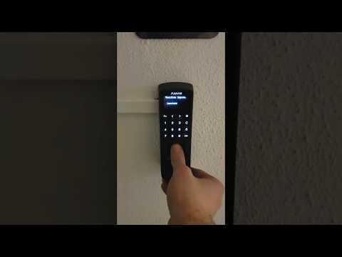 P7 Anviz controllo accessi biometrico ad impronta digitale e collegamento lan PoE