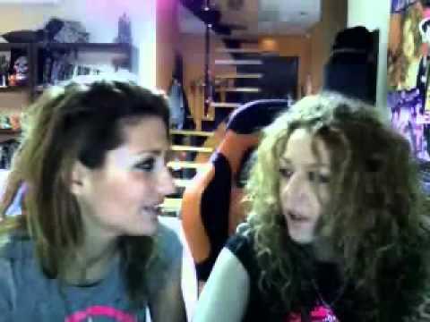 Twitcam Nagore y Sofía 16-02-12 parte 1