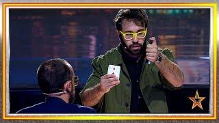Ningún juez confiaba en este mago y les dejó boquiabiertos | Audiciones 3 | Got Talent España 2019