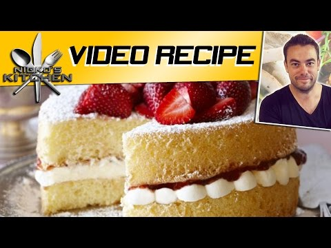 EASY SPONGE CAKE - VIDEO RECIPE