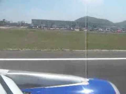Landing at Chennai international airport