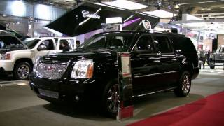 2012 GMC Yukon Denali Exterior and Interior at 2012 Montreal Auto Show videos
