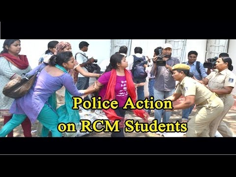 Police Action on RCM Students