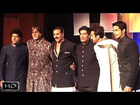 Bollywood Star Power At Mijwan Fashion Show