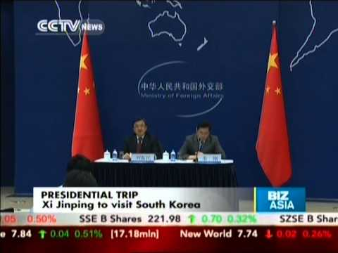 Xi Jinping to visit South Korea
