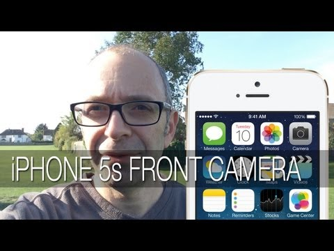 Apple iPhone 5s Front Camera HD Video Test