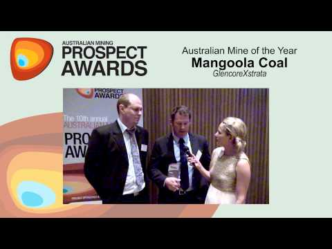 Australian Mine of the Year: GlencoreXstrata - Mangoola coal mine