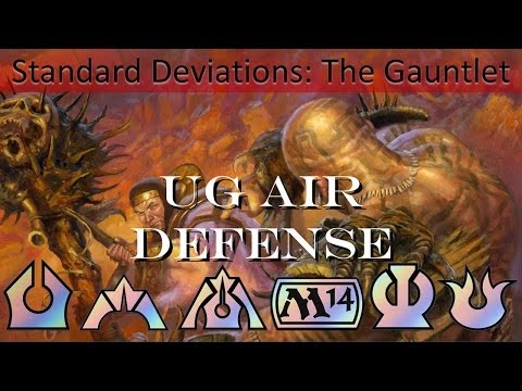 Standard Pauper Gauntlet Round 2 UG Air Defense