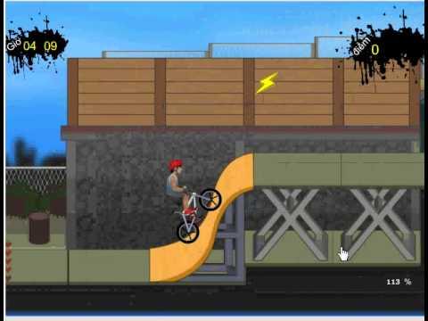 Game xe đạp đường phố -  đua xe đạp biểu diễn