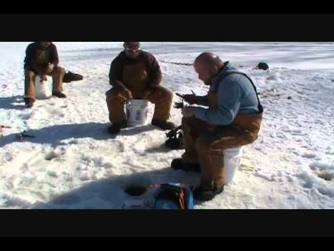 Ice fishing crappie huge blue gill for Ice fishing youtube