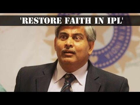 Shashank Manohar calls for probing all IPL 2013 matches