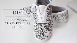 Decora tus zapatillas tennis