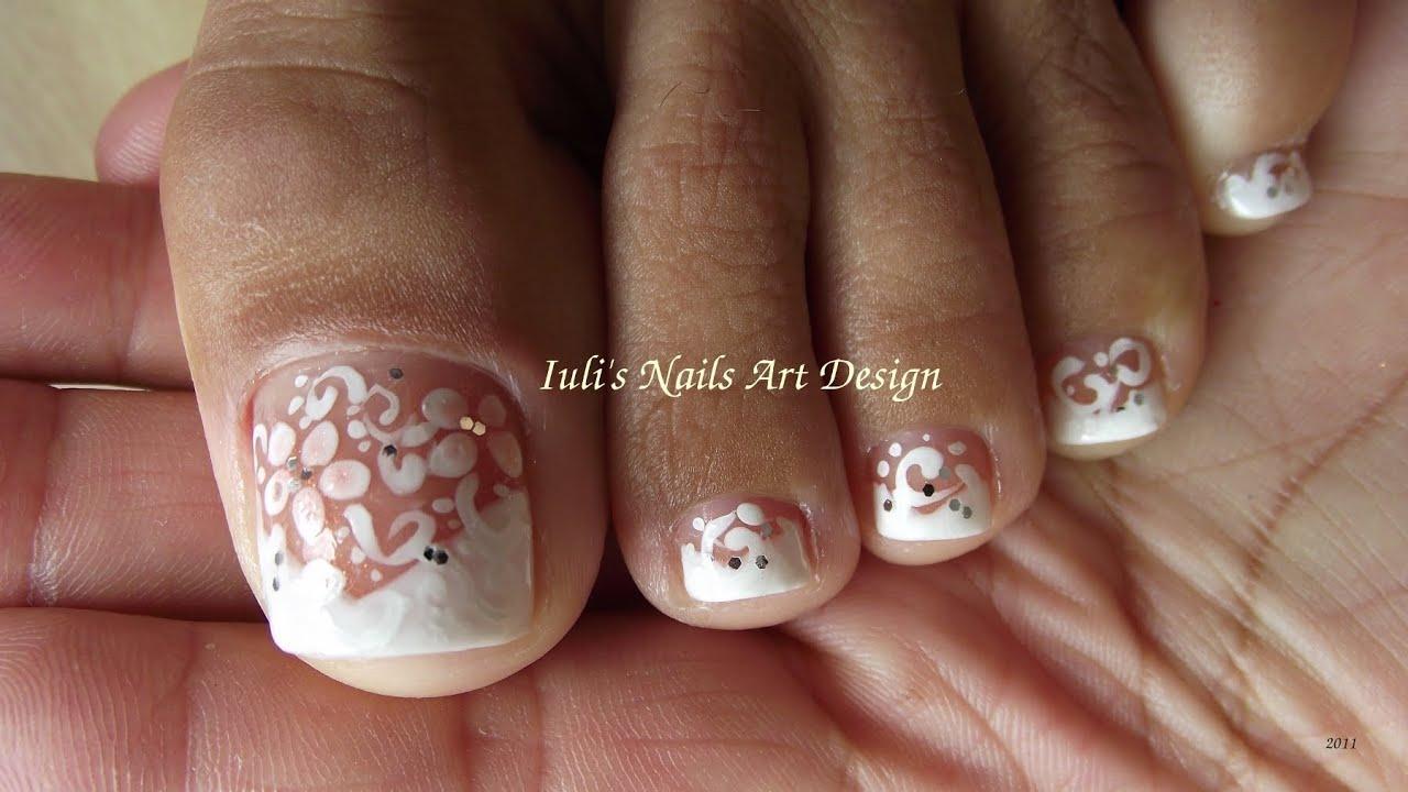 Wedding Toe Nail Designs – ledufa.com