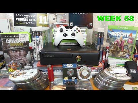 AMAZING! Found XBOX 360 SLIM!! Gamestop Dumpster Dive Finds (Week 58)