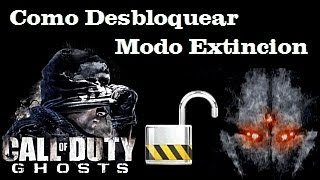 Como Desbloquear El Modo Extincion En Call Of Duty Ghosts