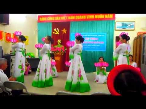 Múa Hồ Chí Minh đẹp nhất tên người. CLB Văn nghệ KDC số 1 Phường Thinh Liệt- Q Hoàng Mai.