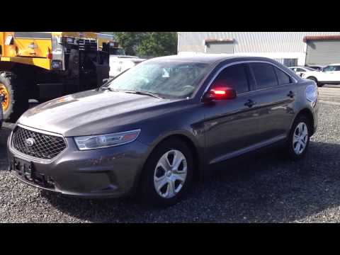 Ford Police Interceptor Sedan Unmarked - YouTube