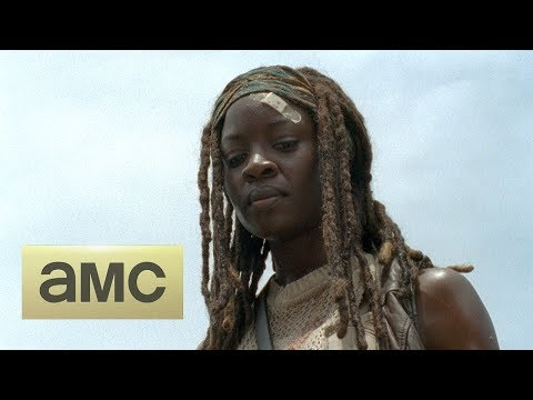 (SPOILERS) Talked About Scene Episode 408 The Walking Dead: Too Far Gone, Michonne and The Governor meet again.
