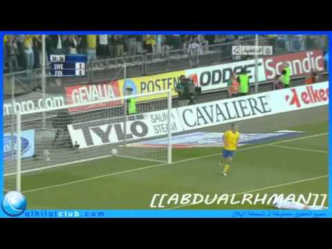 Sweden vs Finland (5- 0) Euro 2012 QualifierAll Goals
