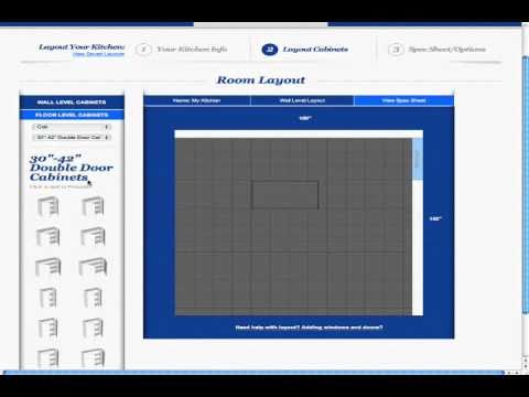Free Kitchen Design Software Adding Wall Cabinets Youtube