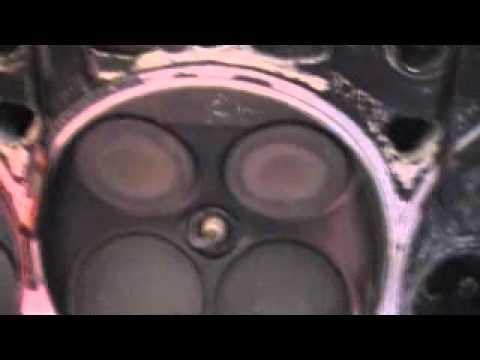 Прогоревшие клапана двигателя 2ZZ-GE