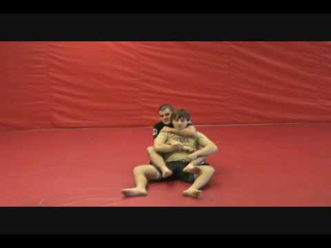 Armbar from BackMount