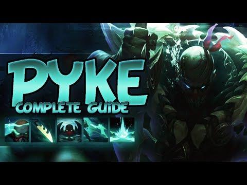 PYKE FULL GUIDE SEASON 8 - Tips, Tricks, Outplays, God Tier -  League Of Legends