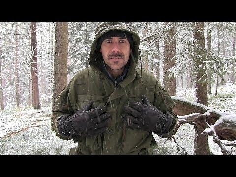 Winter-Kleidung Bushcraft (Jacke, Hose & Schuhe) | Outdoor AusrüstungTV