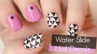 How to Use Water Slide Nail Decals | TotallyCoolNails