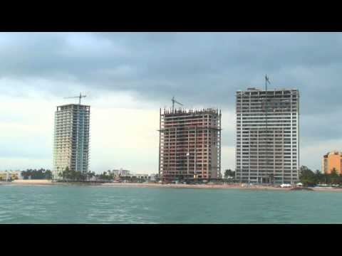 The Skyline of Buildings and Hotels Under Construction in Puerto Vallarta, Mexico