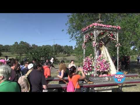 Llevada de la Virgen de Luna al Santuario - 2012
