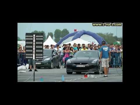 Nissan GTR Aplauz - Osijek 11 - trke ubrzanja