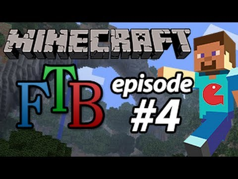 Let's Play Feed the Beast - Minecraft - EP 04 - The Dig Continues