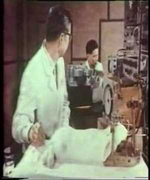 Acupuncture research (Akupunktur Forschung) in China, 1970