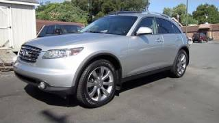 2004 Infiniti FX35 Start Up, Exhaust, and In Depth Tour videos