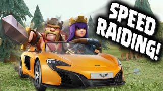 Clash Of Clans Speed Raiding In Champion League