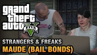 GTA 5 Maude (Bail Bonds) [Wanted: Alive Or Alive