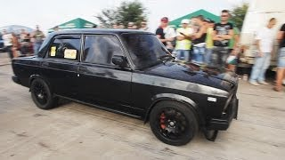 ВАЗ 2107 Турбо 300л.с. Днепропетровск (Турбофлай, Кривой Рог)